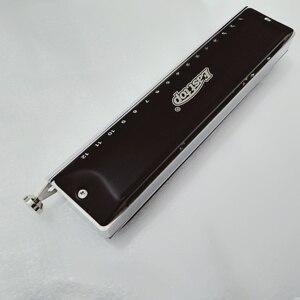 Image 3 - Easttop atualização de bronze pente gaita cromática 16 buraco 64 tom profissional instrumentos musicais armonicas cromaticas harpa t1664