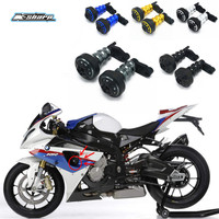 Sale For BMW S1000RR 2010 2012 Motorcycle Frame Sliders Falling Protection Anti Crash Pad Aluminum Left & Right Sides Guard