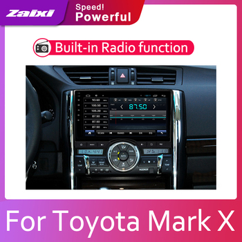 ZaiXi Car Android System 1080P IPS LCD Screen For Toyota Mark X 2009~2019 Car Radio Player GPS Navigation BT WiFi AUX zaixi car android system 1080p ips lcd screen for toyota land cruiser prado 150 2014 2017 car radio player gps navigation wifi