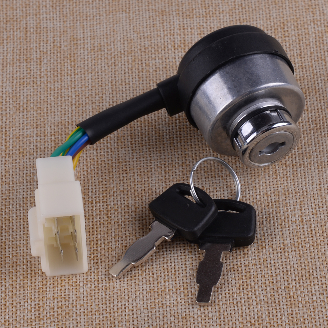 CITALL Chinese Gasoline Diesel Generator Gas Ignition Switch On Off Start Ignition Key Lock Combination 6 Wire Way