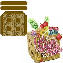 Wooden Box Metal Cutting Dies Of Fruits&Wine Die Cuts For Card Making DIY Scrapbook Decoration New 2019 Crafts Cards