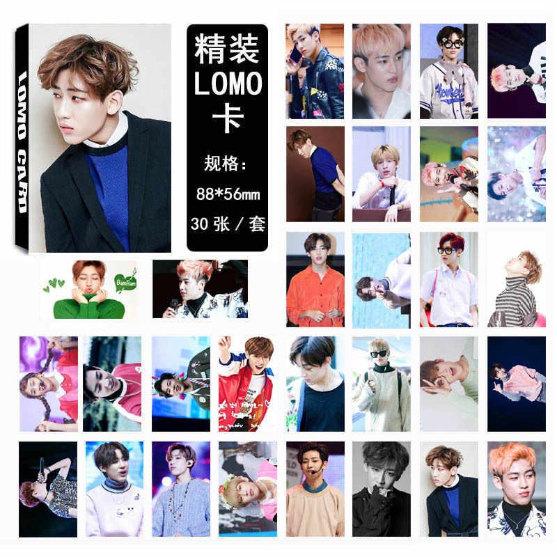 30 Cái/bộ Kpop GOT7 Photocard Bambam Đơn 03 Thời Trang Chất Lượng Cao GOT7 Album Ảnh Thẻ Đồ Mới khách Đến Khuyến Mãi