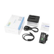Профессиональный SEATAY 2,5 дюймов 3,5 дюймов USB 3,0 SATA адаптар для жестких дисков, внутренний жесткий диск для HD622 док-станция для жесткого диска док-станция штепсельная вилка европейского стандарта
