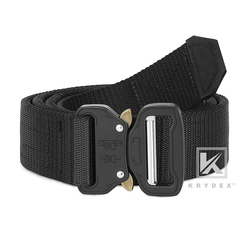 """KRYDEX 1.5"""" Cobra Belt M Size Stiffened 2 Ply Quick Release Nylon Webbing Metal Rigger's Duty Belt For Tactics Hunting Shooting na"""