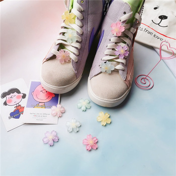 1PCS DIY Flowers Shoe Buckle Girls And Children's Shoes Accessories Trend Creative Shoelaces Decorative Shoes Accessories darseel shoe accessories shoelaces tax