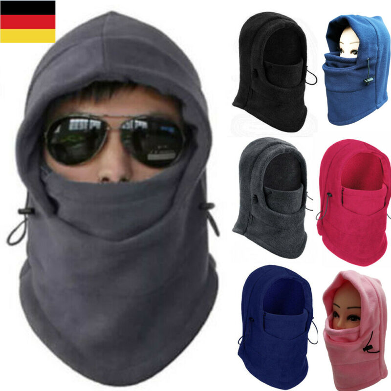 6 In 1 Outdoor Ski Masks Bike Cycling Beanies Winter Wind Stopper Face Hats Full Face Mask Accessories Scarf Windproof