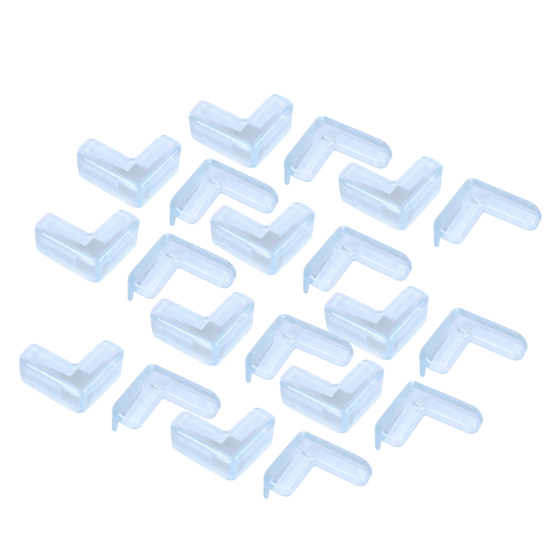 20 Pcs Table Table Corner Protector Edge Protector Baby Safety Buffer Protective Caps Impact Protection For Child Safety Promo