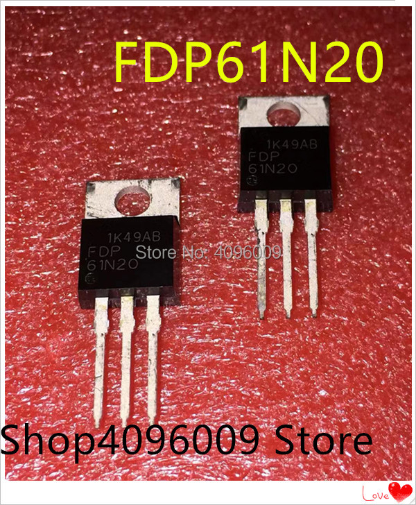 10PCS/LOT FDP61N20 FDP61N20 61A/200V TO-220