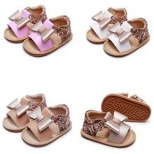 Summer Sandals Shoes Toddler Newborn Baby-Girls Infant Bowknot Princess Non-Slip Cute