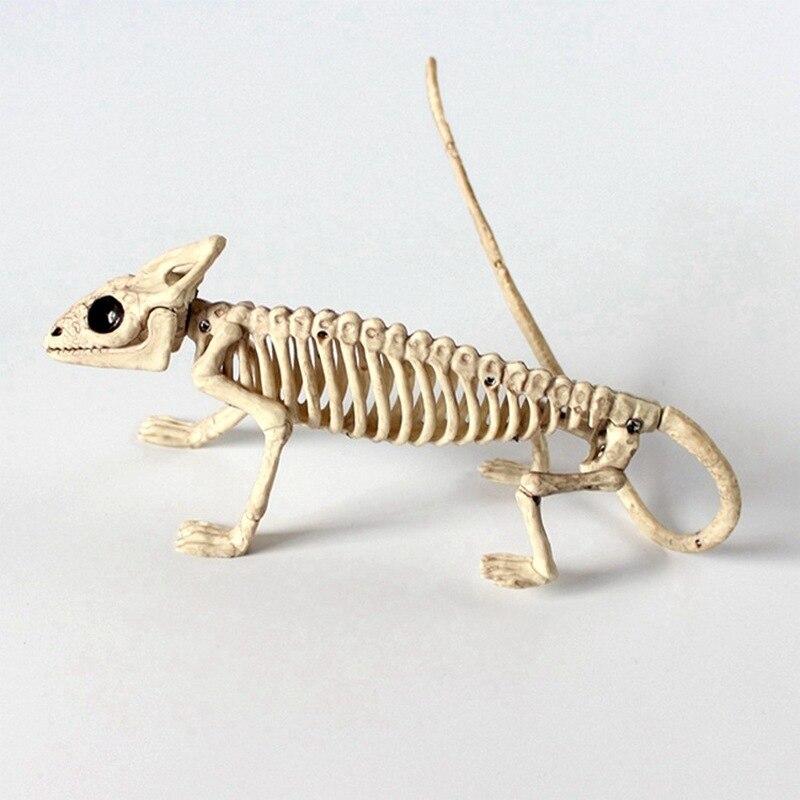 Украшение на Хэллоуин, животные, скелет, кости, реквизит, вечерние, жуткий паук, летучая мышь, Скорпион, ящерица, кости, украшения, Хэллоуин, у...