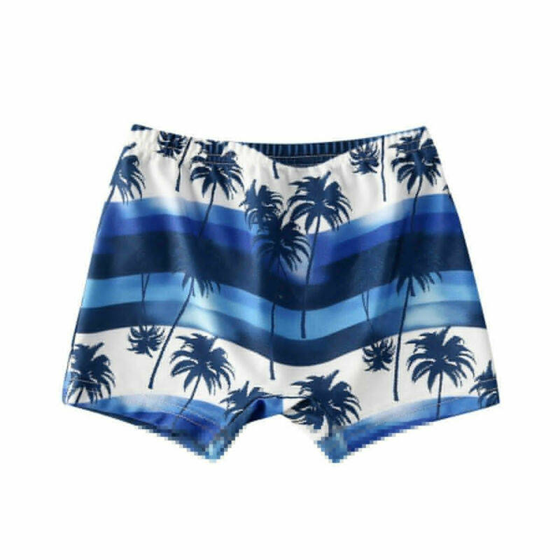 2020 Newest Arrival Summer Toddler Kids Baby Boy Floral Swimming Pants Beach Shorts Bottoms Panties Board Shorts 3