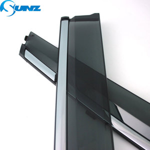 Image 4 - smoke Car Side Window Deflectors For DONGFENG AX7 2019 Sun Shade Awnings Shelters Guards accessories SUNZ