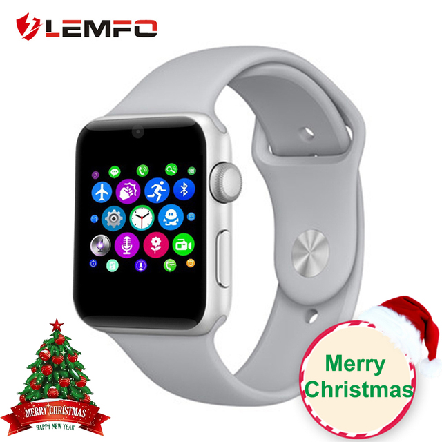 LEMFO LF07 Bluetooth Smart Watch Support SIM Card Pedometer Bluetooth 4.0 Voice Interactive Smartwatch For IOS Android Phone