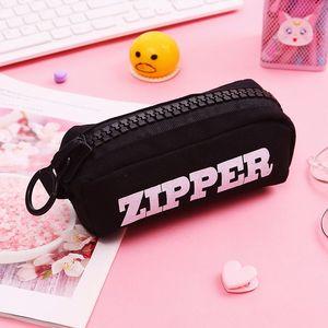 Creative Big Zipper Pencil Cas