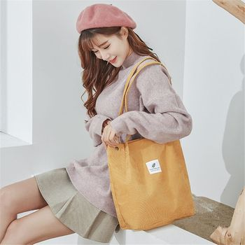 Cute Reusable Shopping Bag Women Canvas Tote Bags solid color life casual package hand bag Large Capacity Handbag Shoulder Bag цена 2017