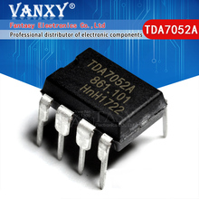 "10PCS TDA7052A מח""ש 8 TDA7052 מח""ש 7052A DIP8"