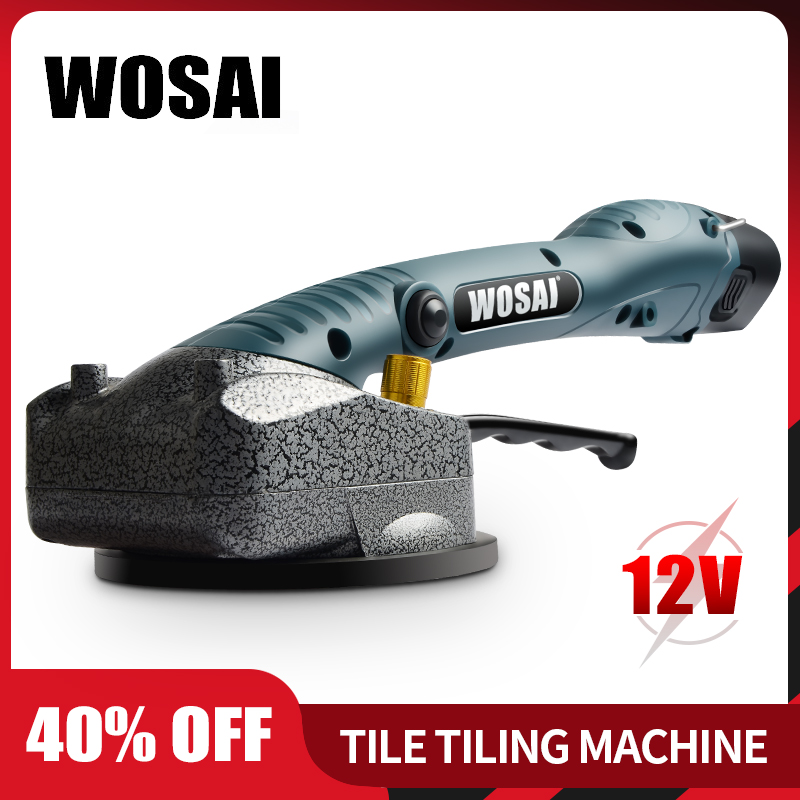 WOSAI Wireless Tile Installation Portable Smart Tile Tiler Floor Vitero Wall Tile Vibration Machine Brick Wall Tile Tool