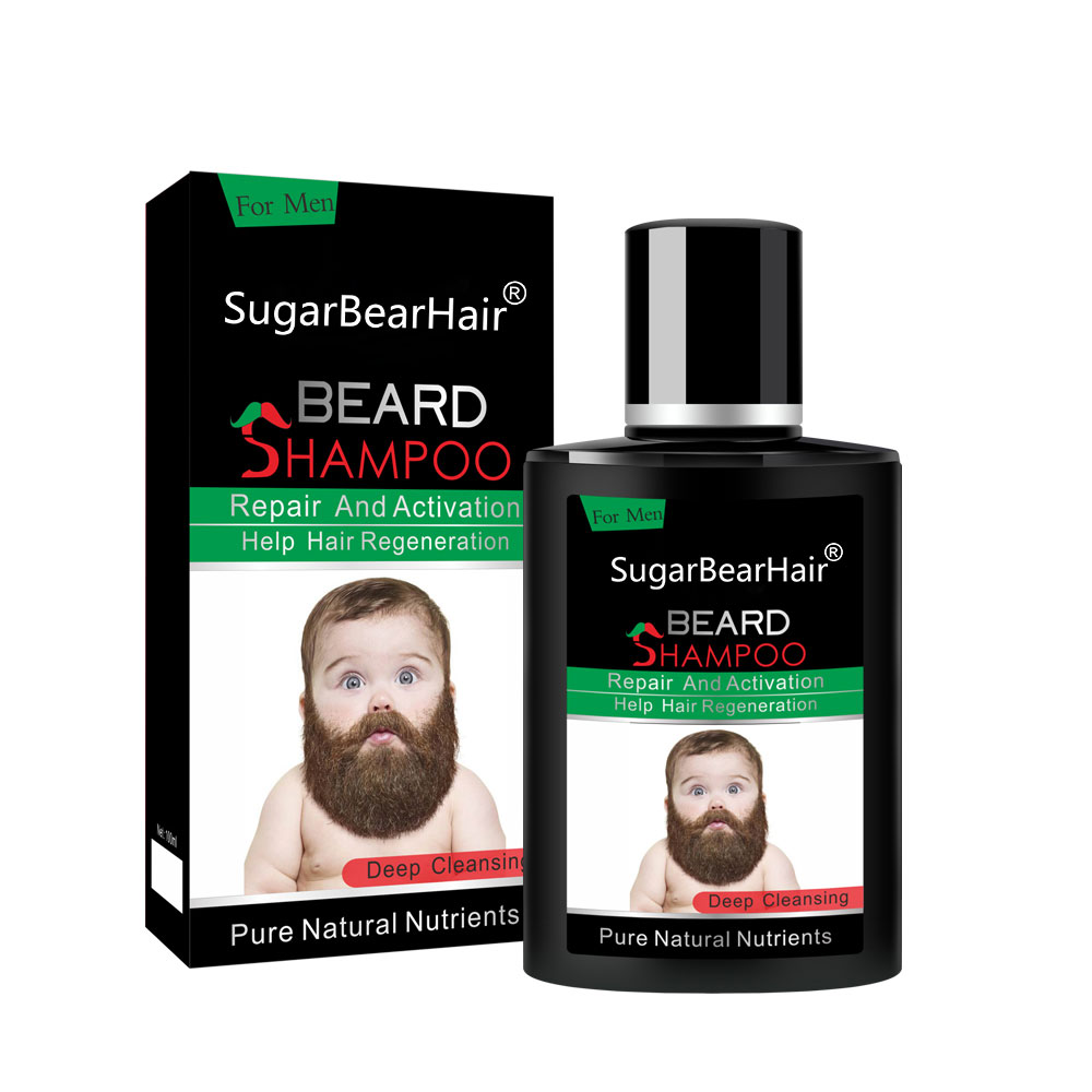 SugarBearHair Beard Shampoo Repair And Activation Help Hair Regeneration 100ml