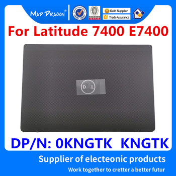 Laptop NEW original LCD Rear Lid Back LCD Top Cover Case Touch section For Dell Latitude 7400 E7400 0KNGTK  KNGTK AQ2EE000202