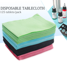 125Pcs Disposable Tattoo Clean Pad Waterproof Medical Paper Tablecloths Mat Double Layer Sheets Tattoo Accessories