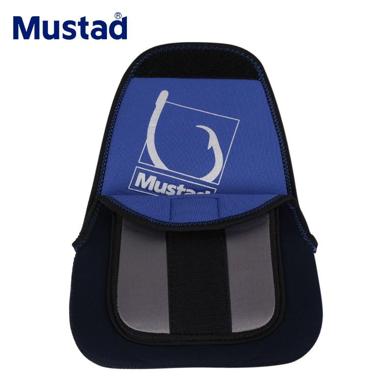 Mustad MRCS01-S/M/L filature moulinet pochette pêche moulinet sac étui de protection porte-couvercle pêche attirail sacs extérieur mallette de rangement