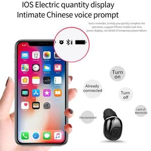 Image 5 - Amorno Bluetooth True Wireless Earphone 5D Stereo Earbud Mini TWS Waterproof Headfree Earpiece 2200mAh Power Bank For Phone