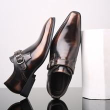 38 48 mens formal shoes Stylish business Gentlemans comfortable formal shoes men #R2512