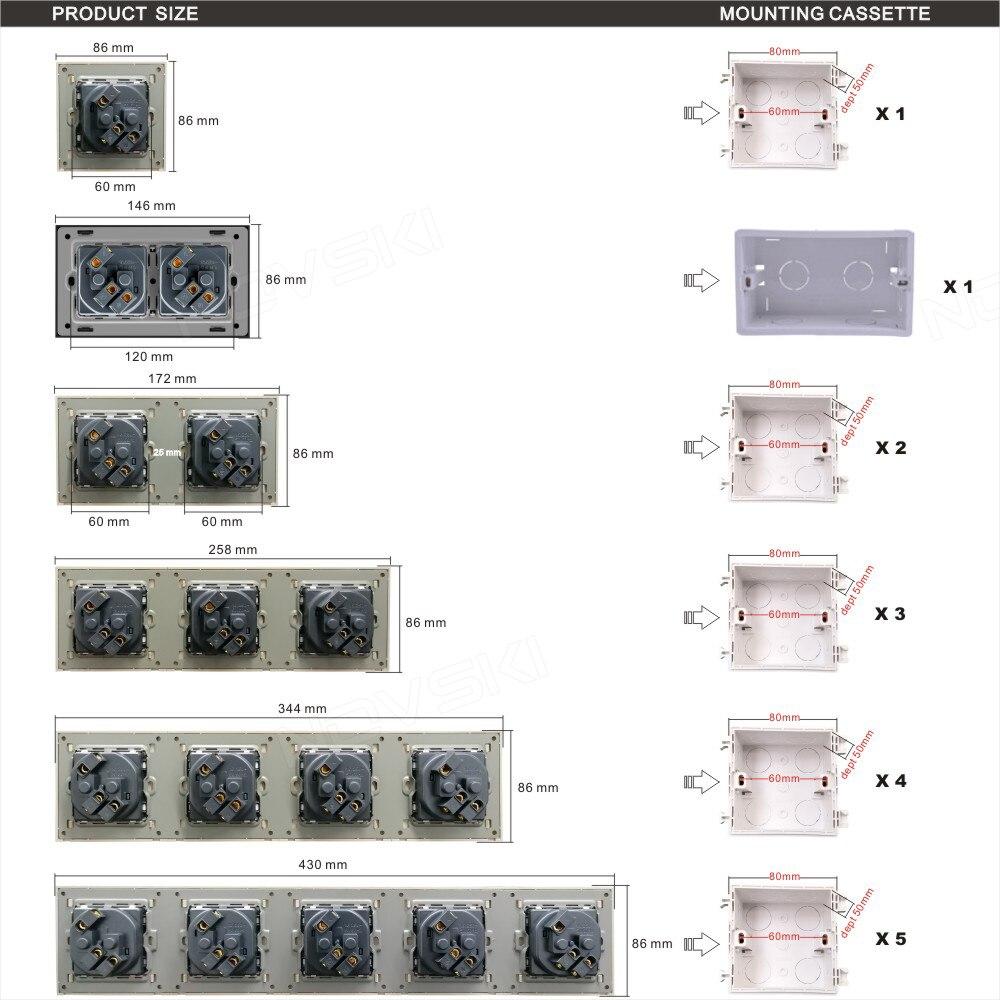 alimentação cabo tv dados tomada catv, cristal