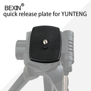 Image 2 - Dslr Camera Plastic Adapter Mount Camera Tripod Head Quick Release Plate Camera Base Plate For Three dimensional Tripod Head