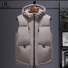 Mens Vest Sleeveless Jacket Outwear Waistcoat Windbreaker Warm Thickening Autumn Winter