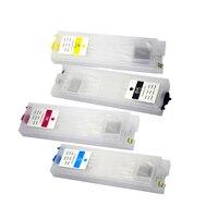 Vilaxh t944 t9441 t9444 cartucho de tinta recarregável para epson t944xl workforce pro WF C5290 WF C5790 WF C5210 WF C5710 com chip|  -
