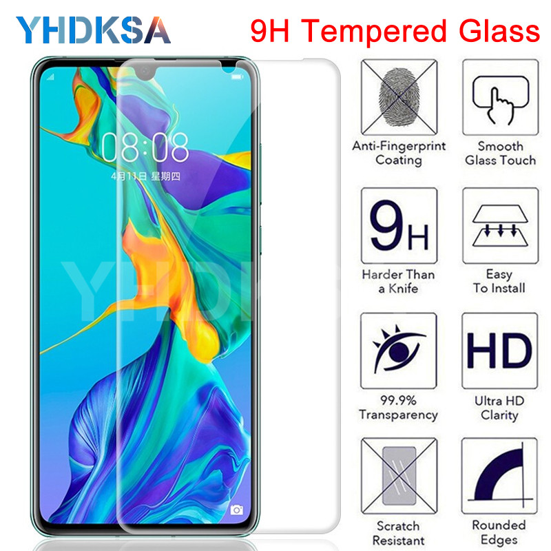 9H Protective Glass For Huawei P30 P20 Lite Pro Huawei P10 Lite Pro P Smart 2019 Film Screen Protector 9H 2.5D Tempered Glass