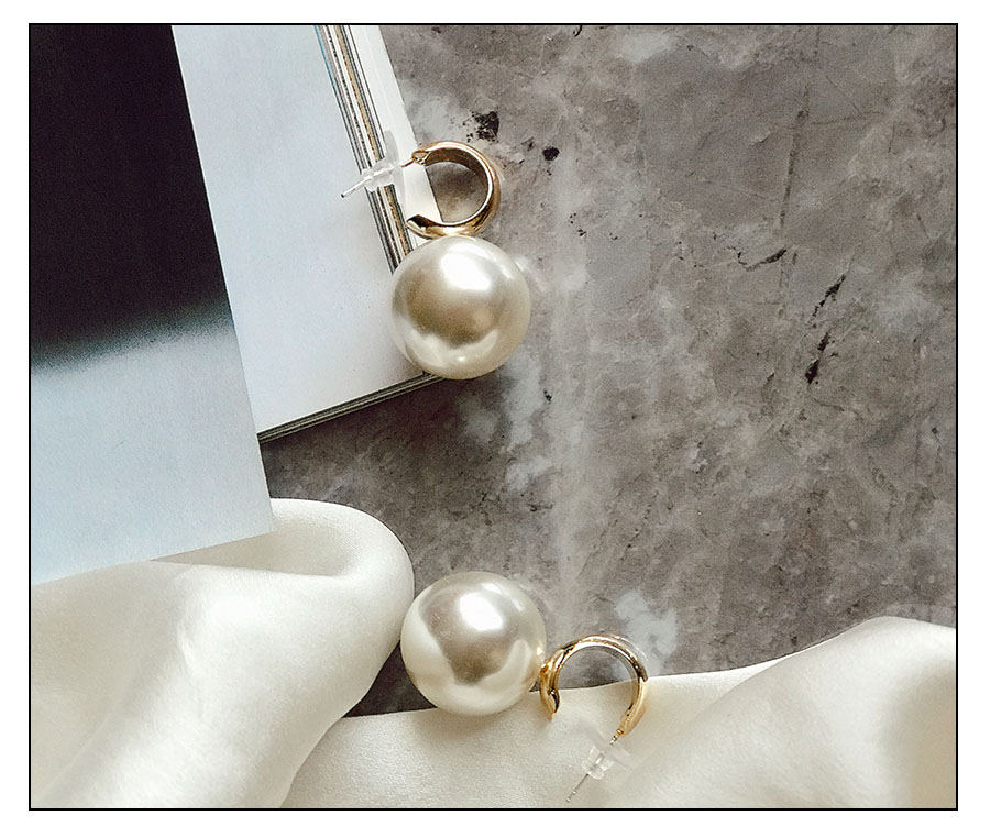 Hd7e697c1c9a0499284348a1b447428f4a - VKME Simulated Pearl earrings For Women NEW Earrings Vintage Gold Jewellery Wedding Gifts