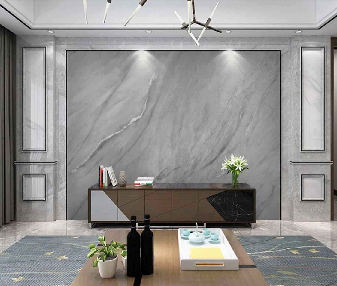 Dark Grey Marble Wallpaper Photo Mural Art Wall Painting 3d Wall Papers Home Decor Luxury Wall Murals For Tv Background Decor Wallpapers Aliexpress
