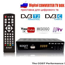 1080 P Dvb-t2 Tv Box Dvb C Hdmi Digitale Tv Ontvanger Dvb T2 Tuner Usb Wifi Ontvanger Iptv M3u Speler youtube Knop AC3 Set-Top Box(China)