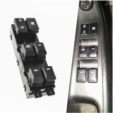16 Pins Car Auto Electric Power Window Switch Replacement Accessory Fit for Kia Picanto 2012 2013 2014 2015 93570 1Y200