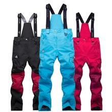 TWTOPSE Сноубординг зимние лыжные штаны женские водонепроницаемые Зимний ветрозащитный Теплый спортивные брюки термальный поход скейт брюки