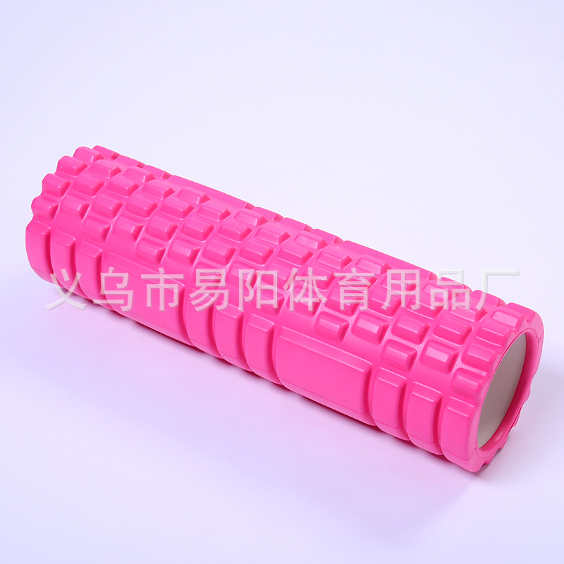 Manufacturers Direct Selling 45*13 Cm Foam Column Roller Foam Roller Hollow Yoga Pillar Muscle Massage Stick Foam Roller
