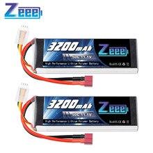 2 unités Zeee 11.1V 50C 3200mAh 3S Lipo batterie avec connecteur Deans Softcase batterie pour RC avion hélicoptère RC voiture camion bateau