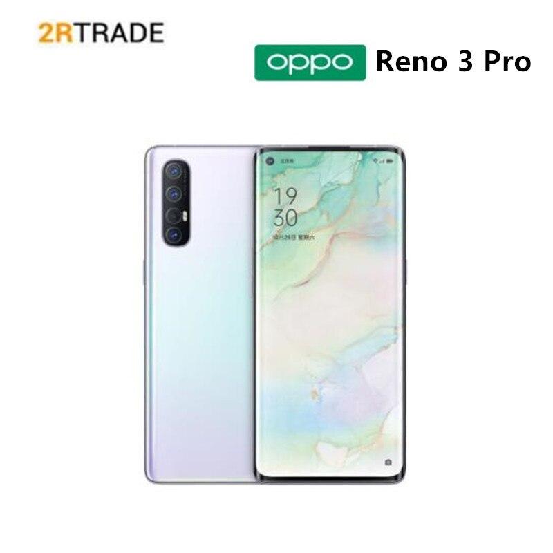 "DHL shipping Oppo Reno 3 Pro 5G Mobile Phone Snapdragon 765G 8GB 128GB Octa Core 12G RAM 5 Cameras VOOC 6.5"" Screen Fingerprint|Cellphones| - AliExpress"