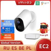 IMILAB EC2 Wireless Home Security Camera Mihome Camera 1080P HD Outdoor Wifi Camera IP66 CCTV Camera Vedio Surveillance Camera