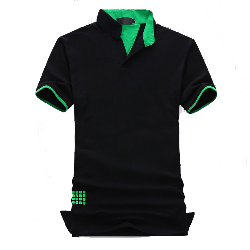New 2019 Fashion Short Sleeve Polo Shirt Men Polo COTTON Camisa Polo Masculina Man Plus Size 7XL 6XL 5XL 4XL XXXL XXL-M 3 Colors