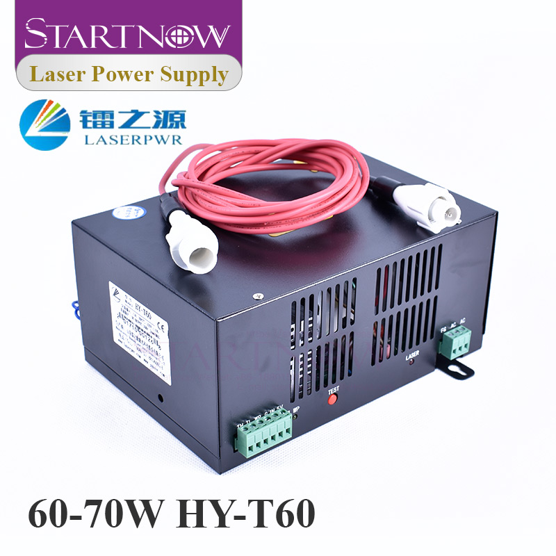HY-T60 Co2 Laser Device 60W Co2 Laser Generator 110V 220V PSU High Voltage Power Supply For Co2 Laser Engraving Cutting Machine