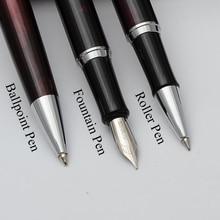 Baoer Metal Ball Pen Ballpoint Pen Classic Stylus Writing Stylo Diamant Stationery Office & School Ballpoint Pens Ink Black