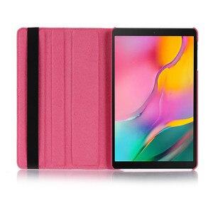Image 5 - Étui à rabat pour Samsung Galaxy Tab A tablette 10.1 étui Tab A A6 2016 SM T580 T580N T585 T585C Coque Capa support housse Funda + stylet