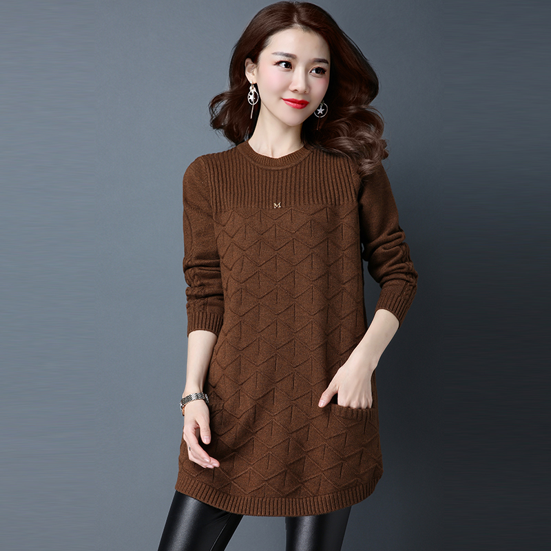 Cheap Wholesale 2018 New Autumn Winter Hot Selling Women's Fashion Casual Warm Nice Sweater  L590