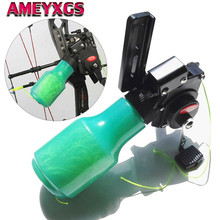 Archery Bow Fishing Spincast Reel With Acrylic Rope Line Compound Recurve Slingshot Shoot Hunting Accessories
