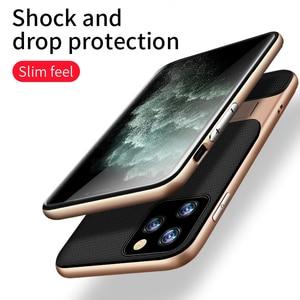 CAPSSICUM Stand Fall für iPhone 11 Pro Max Telefon Fällen PC Kick Weichen TPU Stoßfest Zurück Abdeckung Shell FÜR iPhone 11