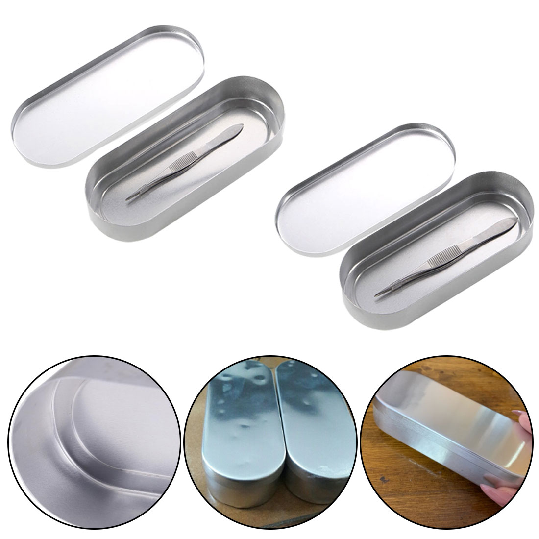 Dental Manicure Nail Tools Sterilizer Tray Medical Needle Disinfection Box Sterilizer Box Sterilizer Tray Container