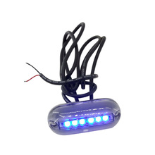 12 В водонепроницаемый светодиодный подводный фонарь для морской лодки, дренажная лампа для рыбалки, плавания, дайвинга, для лодки, яхты, морские аксессуары A30